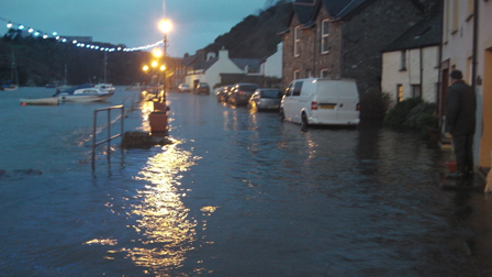 Water Over Lower Town Quay Image