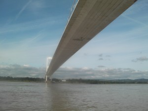 Severn Bridge Estuary