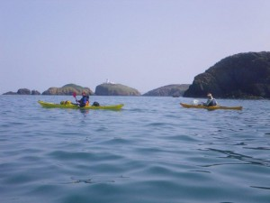 Sea Kayaking Strumble Head Image