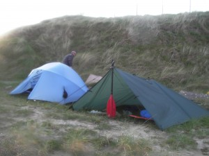 Camping at Pendine Image