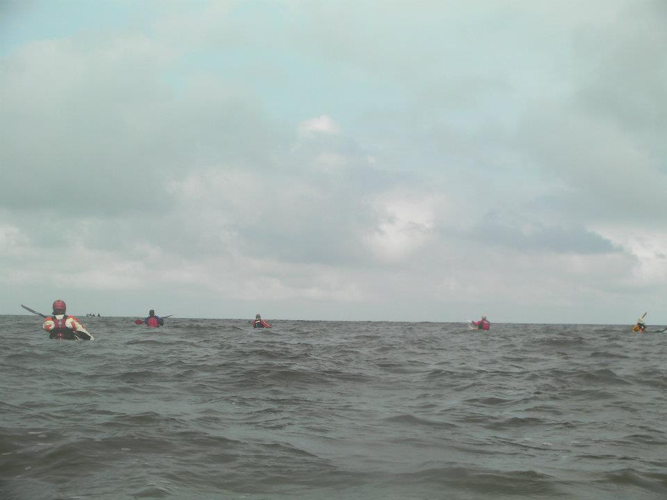 paddling to camaes head
