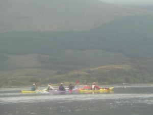 Sea kayaking in Scotland Image