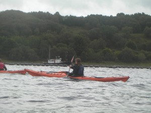 Sea Kayaking Loch Etive Image