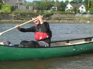 Mr T Canoeing Image