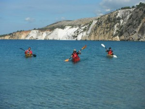 Sea Kayak kefalonia Image
