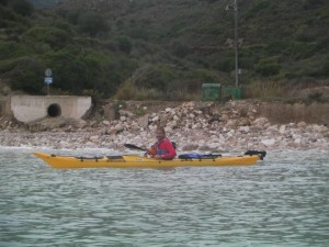 shaun rodgers kefalonia sea kayaking image