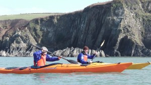 Beginner Sea Kayaking