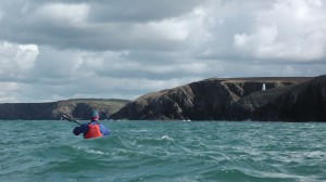 Sea Kayaking to Porthgain