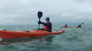 Sea kayaking in Pembrokeshire