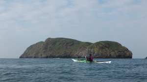 Sea Kayak Ynys Berry