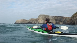 Sea Kayak Through Midland Gap