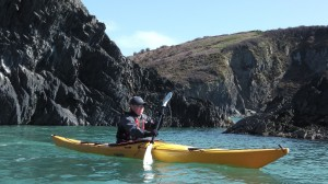 Seakayaking  Around Dinas Head