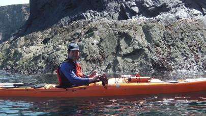 Simon Ford Sea Kayak around Wales