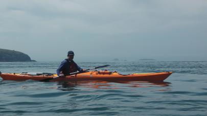 Sea Kayaking in Pembrokeshire`