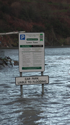 Lower Town Car Park is Liable to Flooding Image