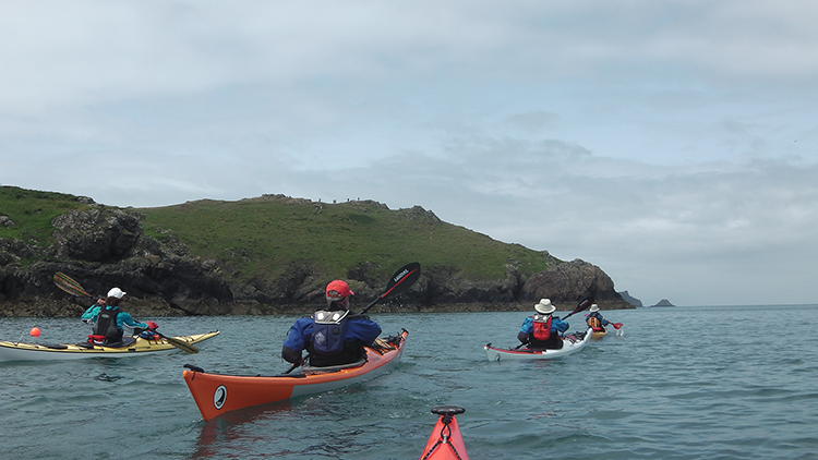 Sea Kayaking to Skomer Island Image