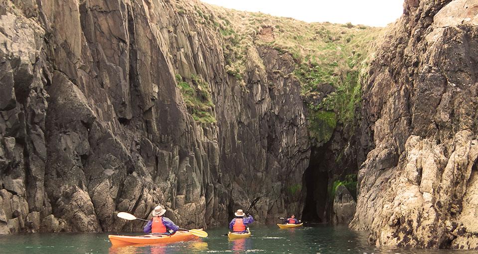 Sea Kayaking Around Dinas Head, Pembrokeshire   Mayberry