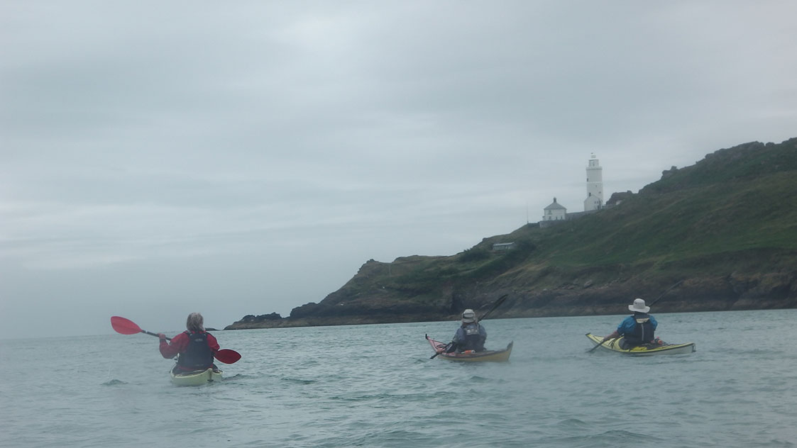Sea kayaking to South Point Devon image