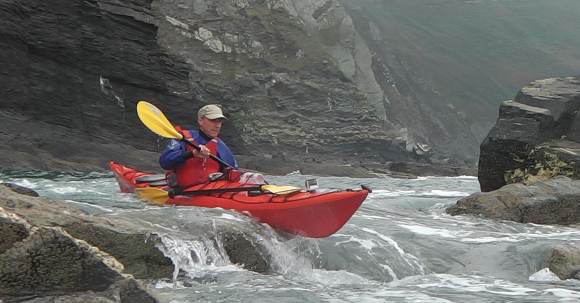 BCU Sea Kayak Award Image